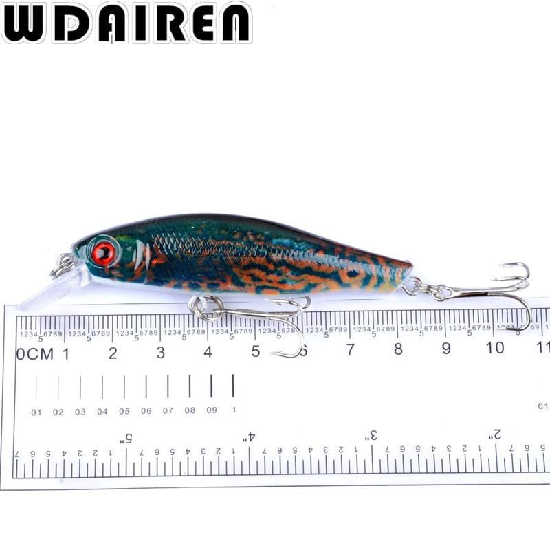 1Pcs Fishing Lure 8.5cm 8.7g Wobbler Minnow Baits Kunstig Japan Hård - Fiskeri - Foto 5