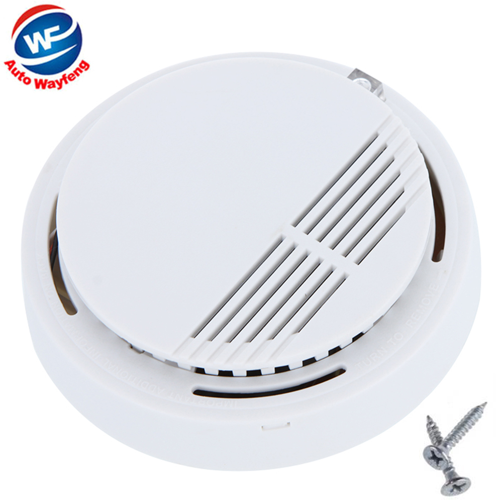 Smart Wireless Smoke Detector Photoelectric Home House Building Security Smoke Alarm Fire Alarm Sensor Equipment