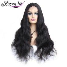 Full Lace Human Hair Wig Body Wave Brazilian Lace Human Hair Wigs With Baby Hair Natural Black 100% Remy Human Hair Wig Bigsophy