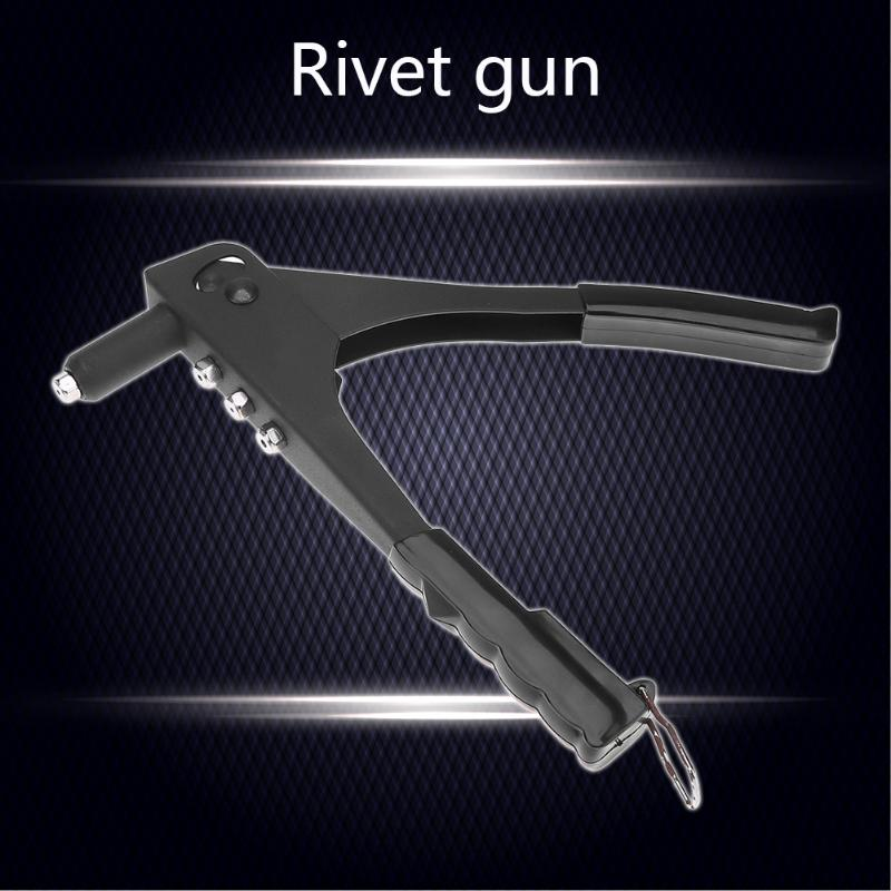 Quality Steel Hand Riveter Rivet Gun Steel Blind Hand Rivets Repair Kits Hand Tool For Metal,fiber,leather And Other Material
