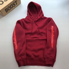 High quality Feece Season 4 Calabasas KANYE WEST hoody Pullo