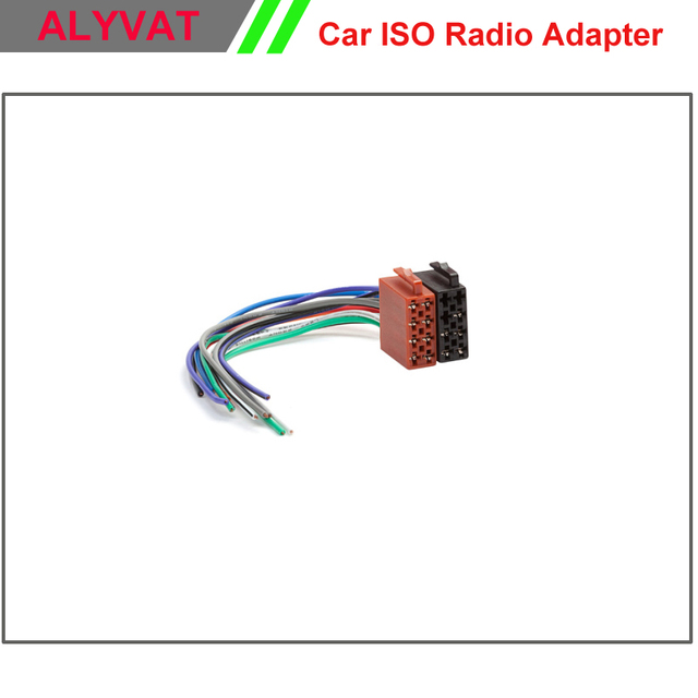 Universal Car Male ISO Stereo Wiring Harness Connector Adapter Plug ...