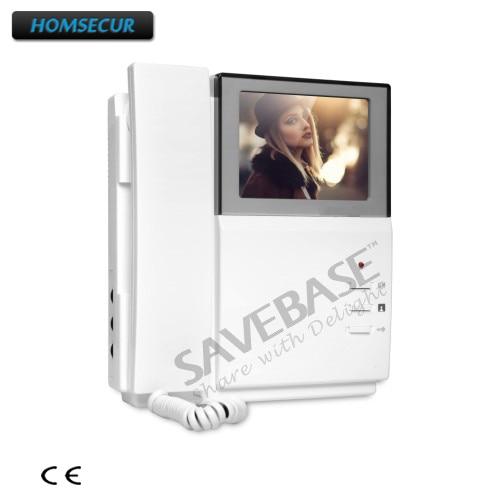 HOMSECUR Color Indoor Monitor 4.3inch XM404 For Video Door Phone Intercom System