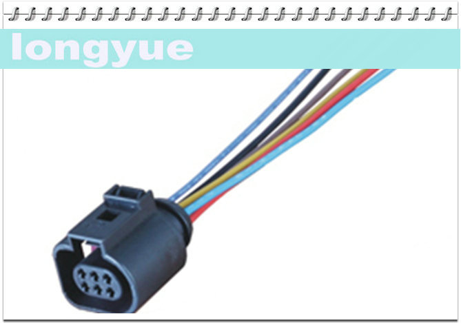online buy whole vw wiring harness from vw wiring longyue 2pcs ntk sensor connector wiring harness 1j0973713 vw style o2 sensor 6 way adapter pigtail