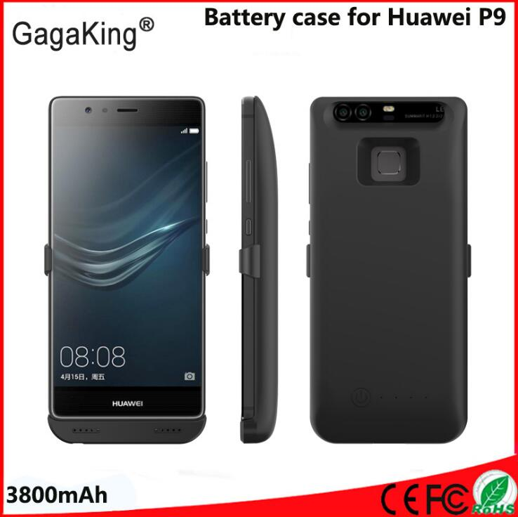2017 Slim For huawei p9 Battery Case 3800 Mah ABS+PC ...