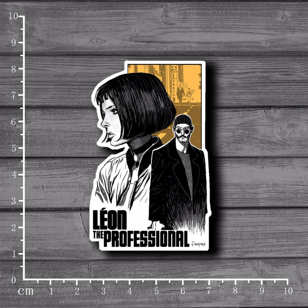 Leon The Professional Scrapbooking Stationery Graffiti Sticker Decor For Ablum Diary Scrapbookin Laptop School Supplies[Single]