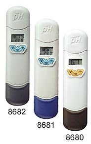 Water Quality Tester Pen type Ph/Temp.meter AZ-8682 ph tester accept sample order