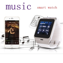 Smart Watch Clock Sync Notifier Wrist Watch SmartWatch For iPhone 4/4S/5/5S/6 and Samsung S4/Note/s6 HTC Android Phone GVah