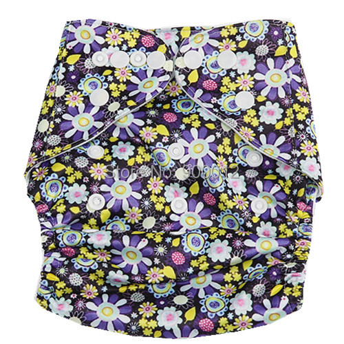 Free Shipping 500 pcs Styles One Size Adjustable Print And Minky Baby Pocket Cloth Diape ...