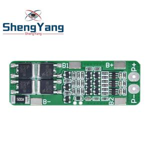 Image 4 - 3S 20A Li ion Lithium Battery 18650 Charger PCB BMS Protection Board For Drill Motor 12.6V Lipo Cell Module 64x20x3.4mm