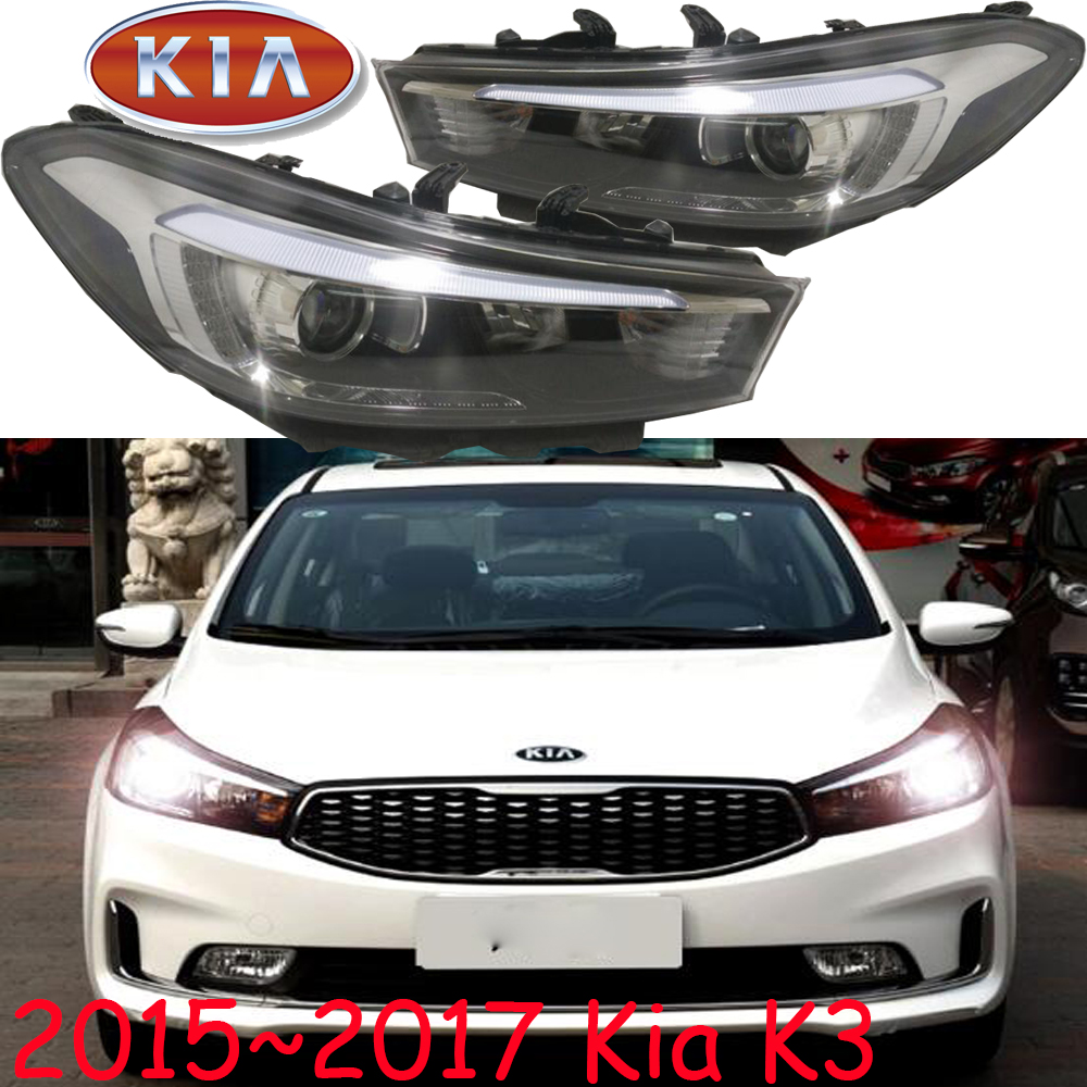 2015~2017 KlA K3 headlight,Free ship!KlA K3 daytime light,K3, K4 K5,Cerato sorento;creta,cerato headlight,K3 Head light