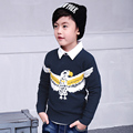 Pioneer Kids Boys Sweater 2016 New Autumn Children Knitwear Patterns Boys Sweater Kids Fashion pokemon go bird Outerwear