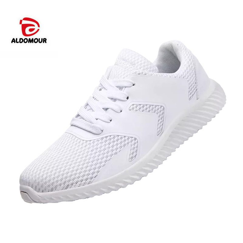 ALDOMOUR Men Sneakers Running Shoes Breathable Outdoor Sports Footwear For Adults walking jogging