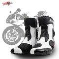 PRO-BIKER SPEED BIKERS Motorrad Stiefel Tragen-beständig Mikrofaser Leder Racing Chopper Cruiser Touring Ankle Schuhe