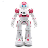 USB Charging Dancing Gesture Control RC Robot Toy Blue Pink for Children Kids Birthday Gift Present