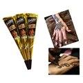 1 unid Nuevas Llegadas Cuerpo de Pintura de Arte de Alta Calidad Mini Natural indio Pasta de Henna para el Cuerpo Del Tatuaje Dibujo tatuaje de Henna Negro Y3