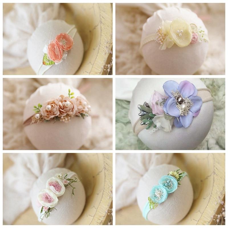 Newborn Photography Props flower headbands baby princess cute creative   headwear   headband photo props