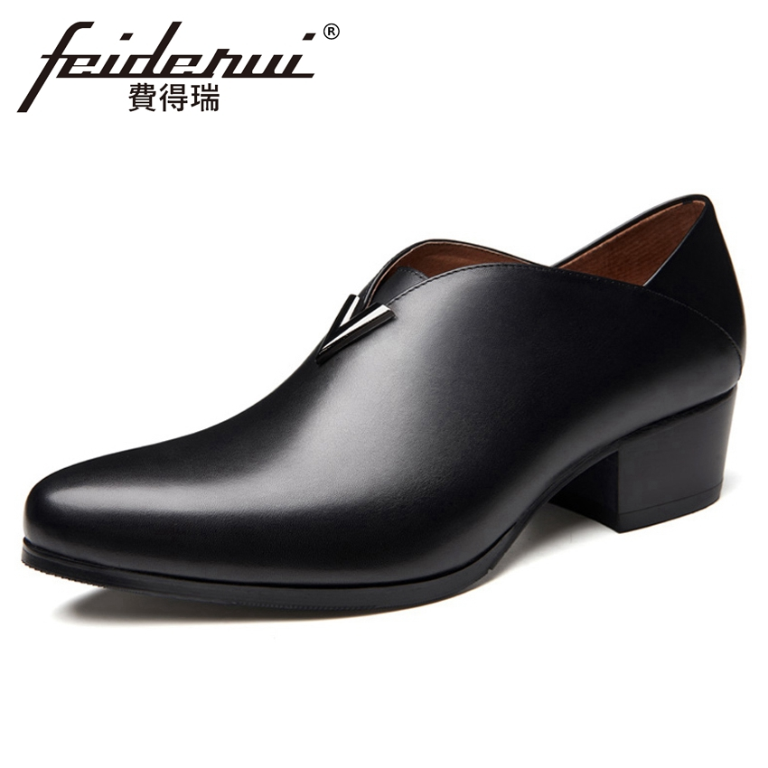 Provided Us 6-10 High-end Mens Genuine Leather Oxfords British Style Man Formal Dress Wedding Shoes Elegant Lace Up Leather Shoes Jade White Formal Shoes Shoes