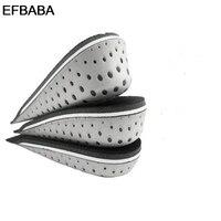 EFBABA Zwiększonej Wkładki Pięty Potu Pochłaniania Wstrząsów Memory Foam Wkładki Wkładki Wkładki Mężczyźni Kobiety Pad Butów Chaussure Accessoire