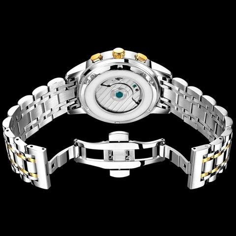 LIGE Mens Watches LIGE Top Brand Luxury Tourbillon Waterproof Automatic Mechanical Watch Mens Stainless Steel Sport Watch+Box Islamabad