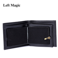 Flame Wallet Magic Tricks Big flame Leather Wallet Magician Trick Stage Street Show magic props Funny Bifold Wallet  Outdoor magic trick funny eyes glasses black