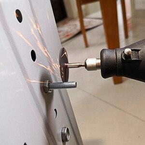 Image 4 - 220V 130W Electric Mini Drill Set Rotary Tool & Flexible Shaft 140pcs Abrasive Bit Accessories Dremel Style Engraving Polishing