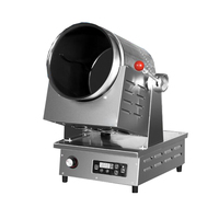 Commercial 3 gear automatic food cooker fried rice cooking machine
