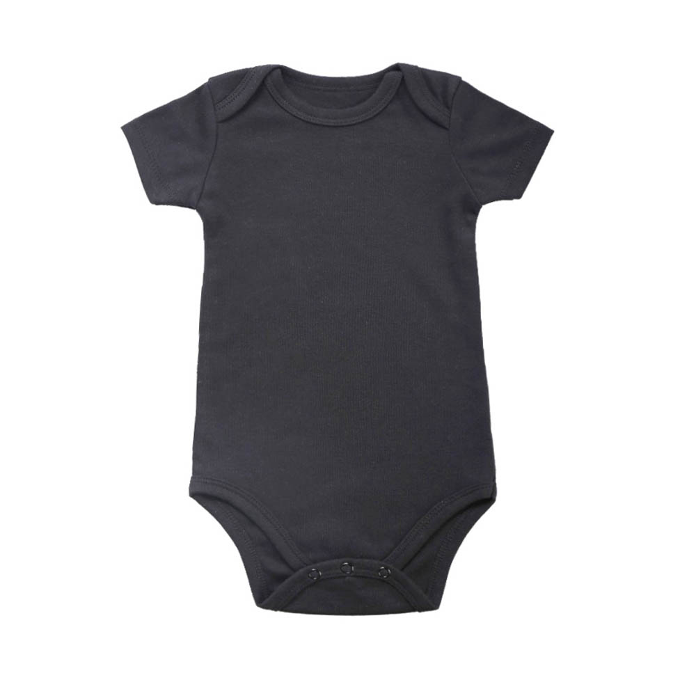 100% Cotton Baby Bodysuit Infant Jumpsuit Overall Short Sleeve Body Suit Newborn Boy Girl Clothing Set Summer 3-24M