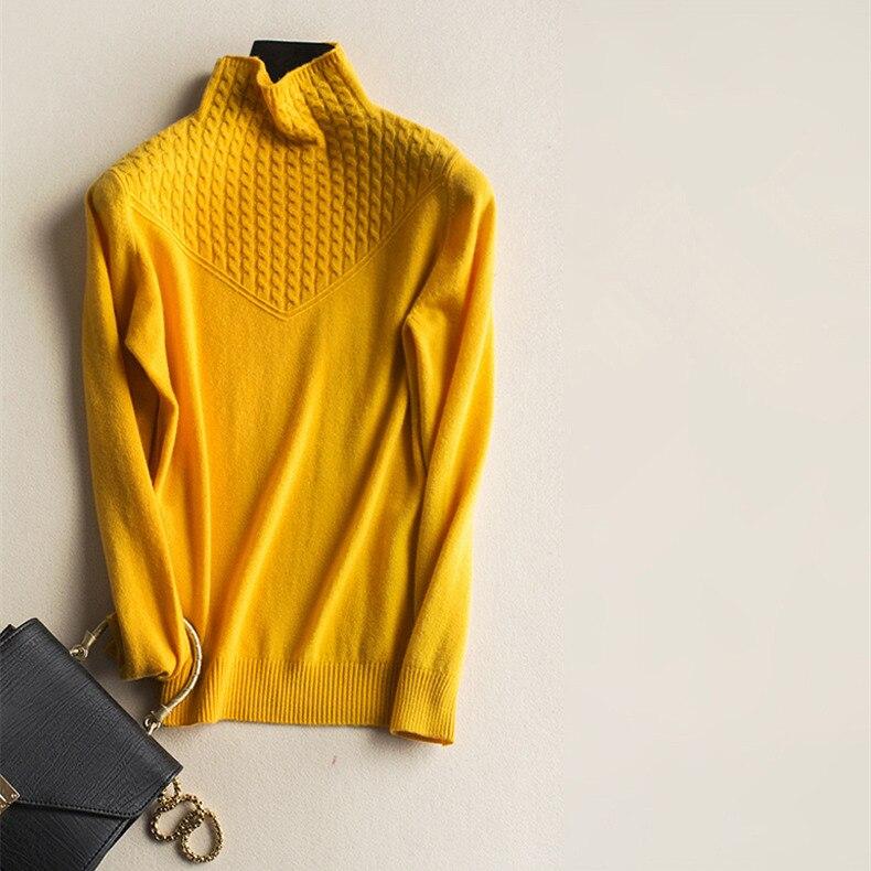 Adohon 2018 для женщин S зимние кашемировые свитеры для и auntmun трикотажные пуловеры высокое качество теплые женские Turleneck