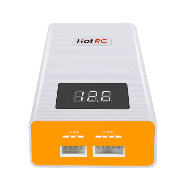 Image 3 - Hotrc A400 Digital 3S 4S 3000mah RC Lipo Battery Balance Charger with LED Screen Fast Charge Discharger for RC Quadcopter-in Parts & Accessories from Toys & Hobbies