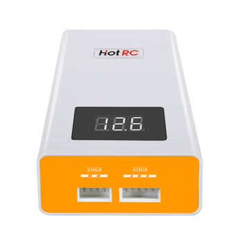 Hotrc A400 Digital 3S 4S 3000mah RC Lipo Battery Balance Charger with LED Screen Fast Charge Discharger for RC Quadcopter