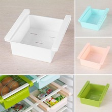 Refrigerator Storage Box Container Creative Fresh Spacer Layer Storage Rack Drawer Fresh Spacer Sort Kitchen Tool