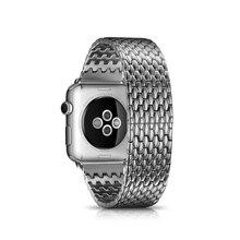 Новое поступление сплошной броня нержавеющей стали часы группы для Apple , часы 38 / 42 мм с адаптером