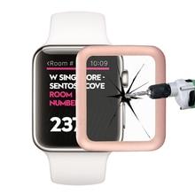 Премиум Закаленное Стекло Защитная Крышка для 38 мм 42 мм Apple Watch Общей Защиты Металлический Каркас Взрывозащищенные(China (Mainland))