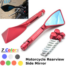For Yamaha yamaha XJR1300 FJR 1300 MT03 Mt 07 2014 2015 2016 BMW Universal Motorcycle Accessories Mirrors Rear view Mirrors CNC