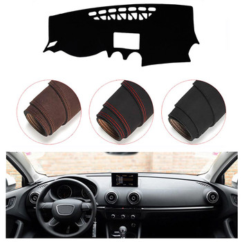 Console Dashboard Suede Mat Protector Sunshield Cover Fit For Audi A3 2012-2016