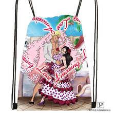 Custom one piece 1 Drawstring Backpack Bag Cute Daypack Kids Satchel Black Back 31x40cm 20180611 02