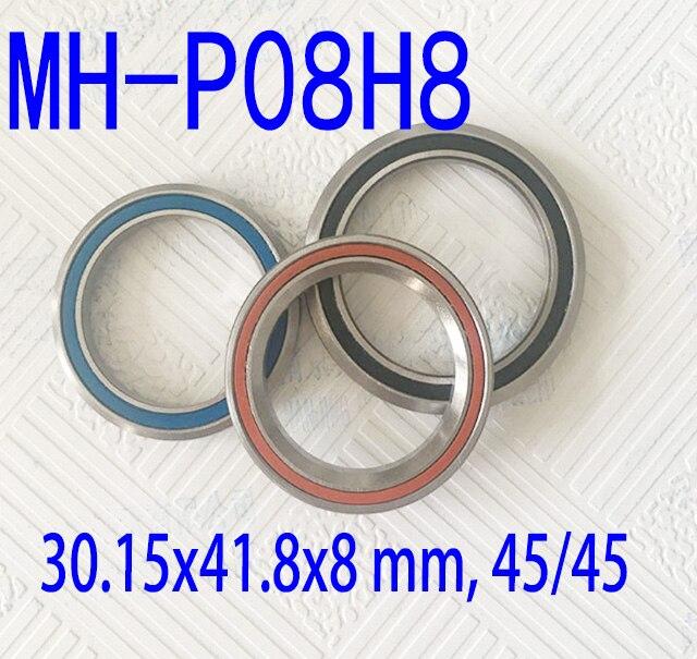 1-1/8 28.575mm bicycle headset bearing MH-P08H8 TH-870E Token 418A ( 30.6x41.8x8mm, 45/45) ACB845H8  bearing hybrid ceramic 1 1 2 1 5 38 1mm bicycle headset bearing mh p16 acb4052 th 070 40x52x7mm 45 45 repair bearing