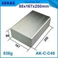 1 шт. красивый и высокое качество алюминиевый корпус инструмента для управления LED 88*167*250 мм