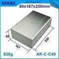 1 stück gute suchen und hohe qualität aluminium instrumentengehäuse für led-steuerung 88*167*250mm