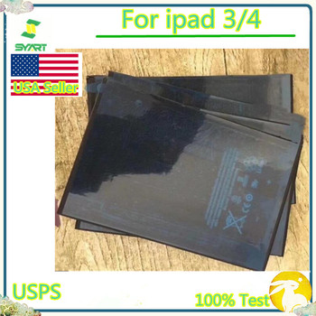 SYART Battery For ipad3/4 Real Capacity Mobile Phone Replacement Battery 0 Cycle Phone Battery For ipad 3 4