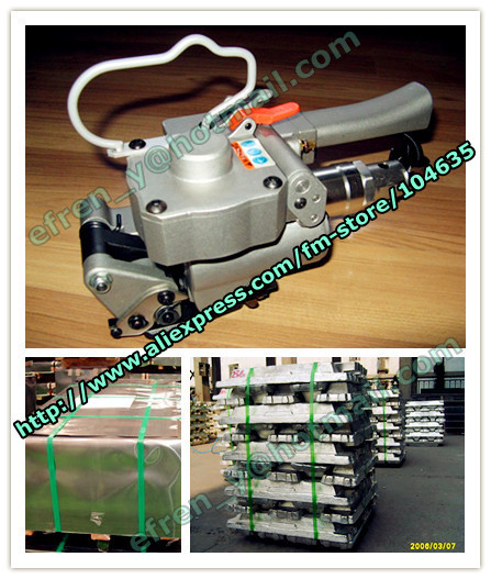 Гарантировано 100% Новое AQD-19 ручной пневматический ПЭТ/Пластиковые рук связывая инструмент для 13-19 мм pet/pp ремень (напряжение> = 3500N)