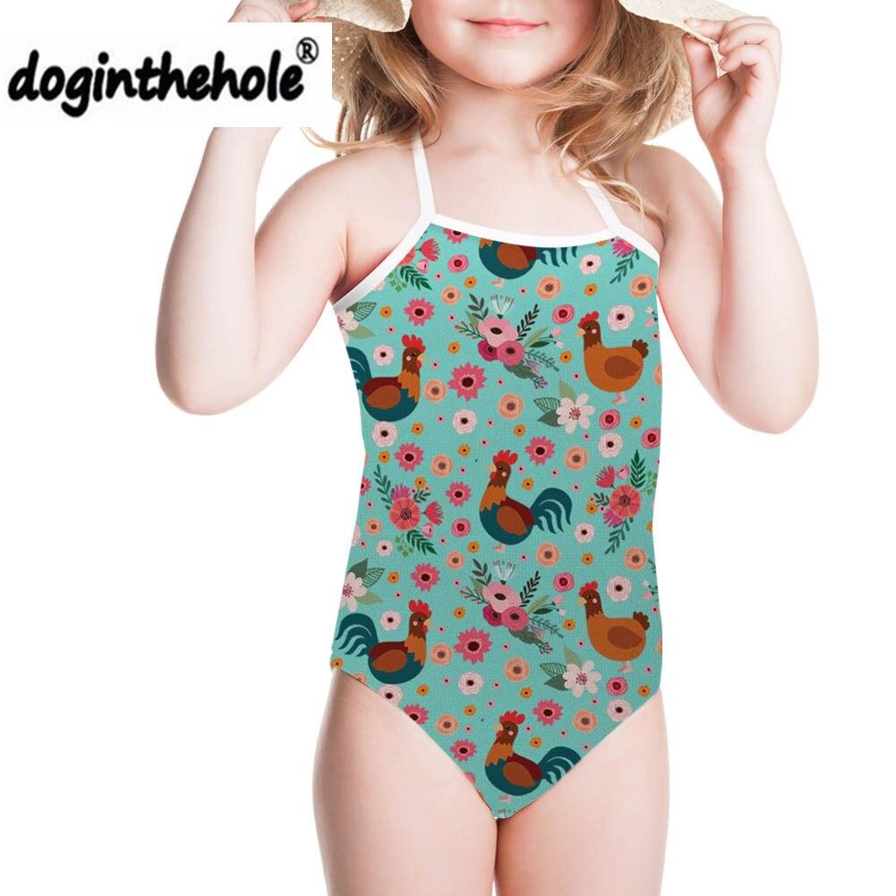 Tier Kinder Stück Badeanzug Anzüge Badeanzug Badeanzug Kind Bademode Mädchen Schwimmen Tragen Tauchen Anzug Kind Baby Schwimmen