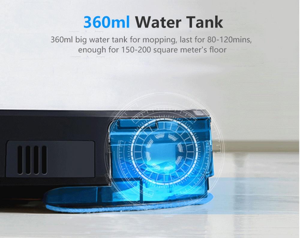 ABIR Robot Vacuum Cleaner x6 with Camera Navigation,Smart Memory,Hand Draw Virtual Blocker,Low Noise,Intelligent Big Water Tank