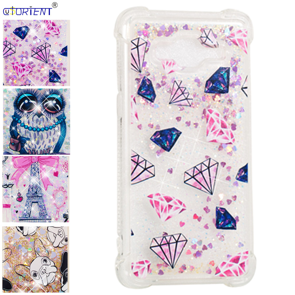 Half-wrapped Case Bling Glitter Dynamic Liquid Quicksand Phone Case For Samsung Galaxy J2 Prime Grand Prime Plus Sm-g532f/ds Sm-g531f Bumper Cover Phone Bags & Cases
