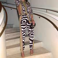 VAZN 2019 Hot casual Ufficio di Modo Dell'annata Manicotto Pieno Camicette Top Pantaloni Gamba Larga Chiffon 2 Piece Set Sottile Per delle donne