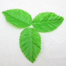 Шт. 200 шт. Зеленый Дерево листьев искусственные листья растений для свадьбы украшения дома рукоделие DIY цветы для скрапбукинга Craft интимные аксессуары