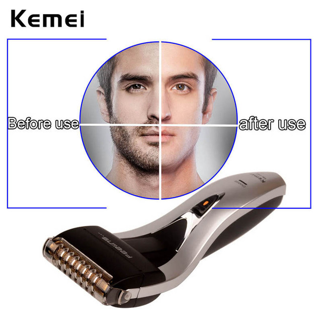 Rechargeable Reciprocating Blade Shaver Professional Electric Shaver Shaving Sideburns Trimmer Moustache Razor Barbeador Machine