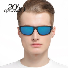 20/20 Polarized Sunglasses Men Brand Designer Blue Lens Sun Glasses Men Classic Driving Fishing Eyewear With Box Oculos PL72