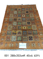 Fabric Kilim Handwoven For Living Room Wool Knitting Carpets Mandala Area Runner Turkey